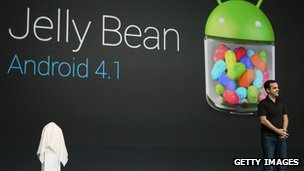 Google Android Jelly Bean launch