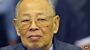 Khmer Rouge chief Ieng Sary dies