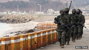 S Korean PM visits border island