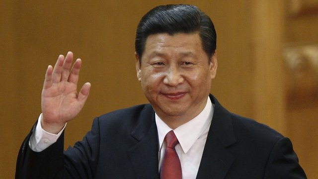 China&#039;s new president, Xi Jinping