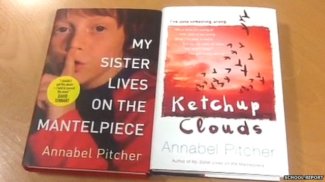 Annabel Pitcher's 1st and 2nd addition to her award winning novels