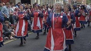 Wimborne Folk Festival