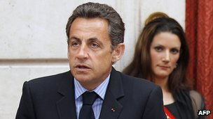 Nicolas Sarkozy - file pic