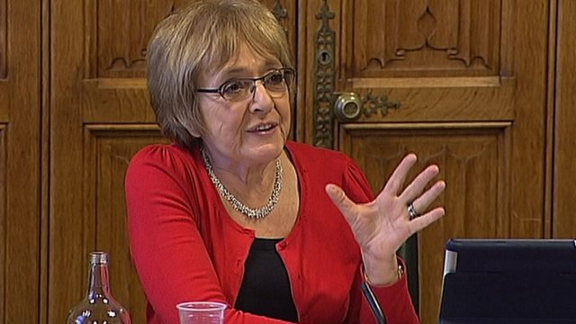 Margaret Hodge, committee chair and Labour MP.