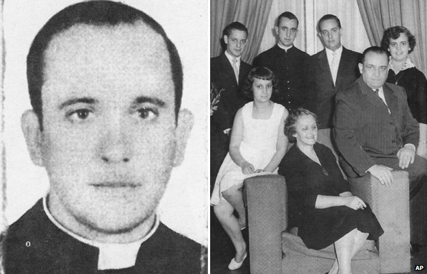 Jorge Mario Bergoglio and family