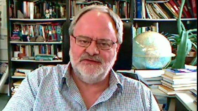 Professor of Geophysics at Keele University, Peter Styles