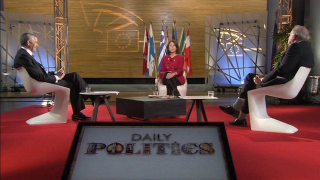 Jo Coburn hosts EU debate