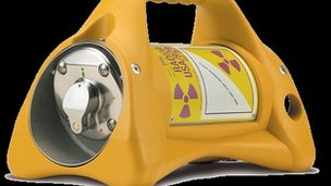 Radioactive canister