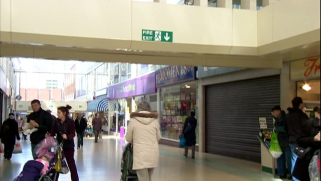 Dudley shopping centre, where the mural will go