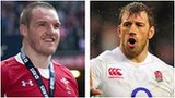 Wales captain Gethin Jenkins and England counterpart Chris Robshaw