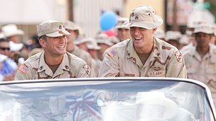 Ryan Phillippe and Channing Tatum in Stop-Loss