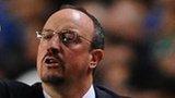 Chelsea manager Rafael Benitez