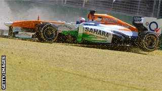 Paul di Resta of Force India