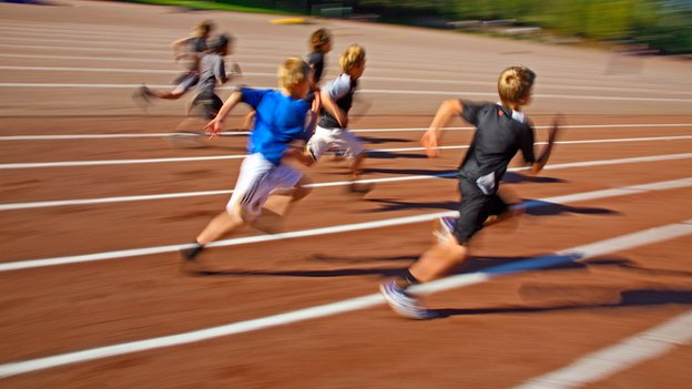 Running Sports Pictures Children at School