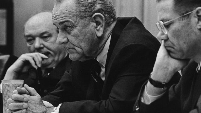 Lyndon Johnson planned a political comeback