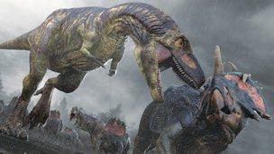 Daspletosaurus (c) BBC