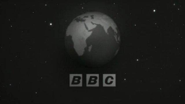 BBC logo beneath globe