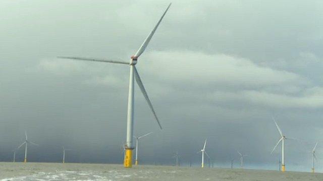 Thames Estuary wind farm