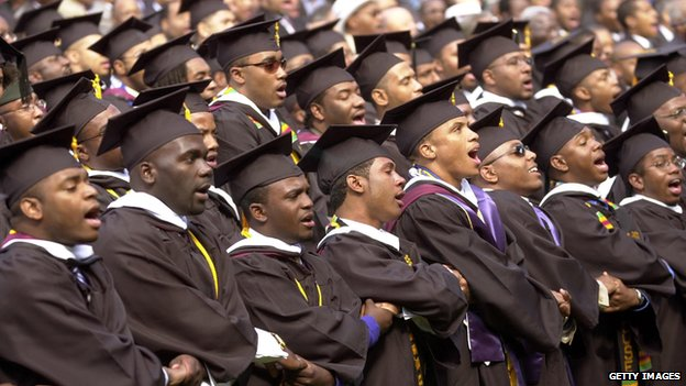 Graduate from Morehouse College, Atlanta