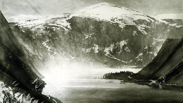 Norman Ackroyd: Balmoral Forest Loch Muick, 2002