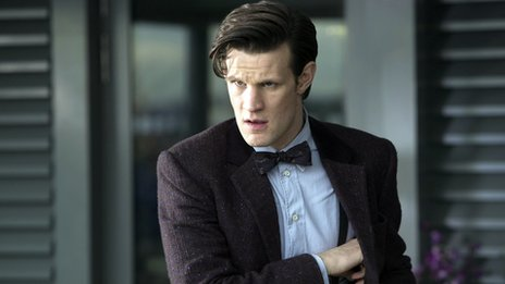 Matt Smith as The Doctor in The Bells of Saint John