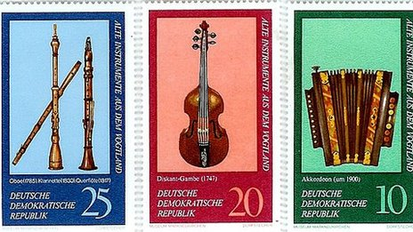 East German Stamps