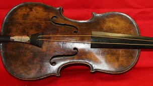 Titanic violin 