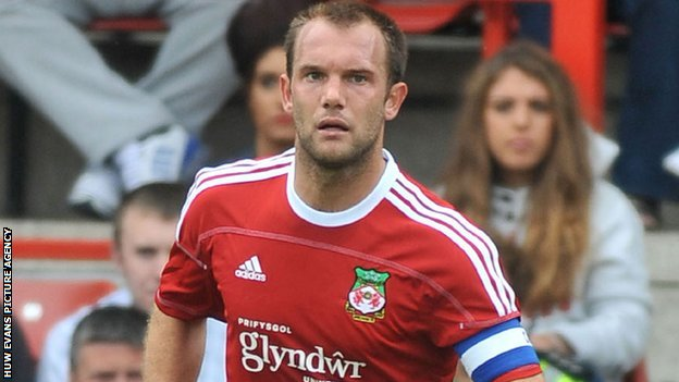 Wrexham defender Neil Ashton