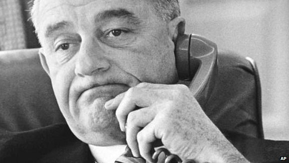 Declassified tapes of President Lyndon Johnson's telephone calls provide a fresh insight into his world. Among the revelations - he planned a dramatic entry into the 1968 Democratic Convention to re-join the presidential race. And he caught Richard Nixon sabotaging the Vietnam peace talks... but said nothing.