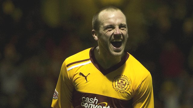 Motherwell forward James McFadden