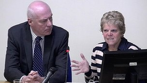 Bob and Sally Dowler giving evidence at Leveson