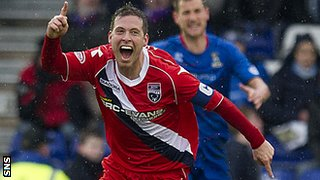 Ross County midfielder Paul Lawson