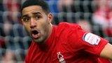 Nottingham Forest midfielder Lewis McGugan