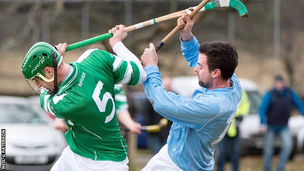 Action from Caberfeidh v Beauly.