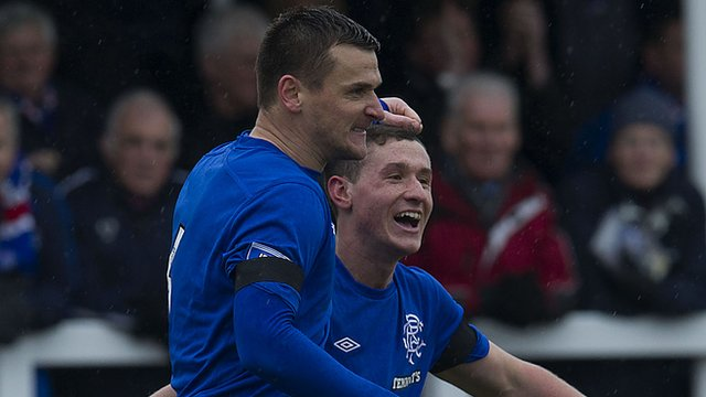 Highlights Elgin City 0-1 Rangers