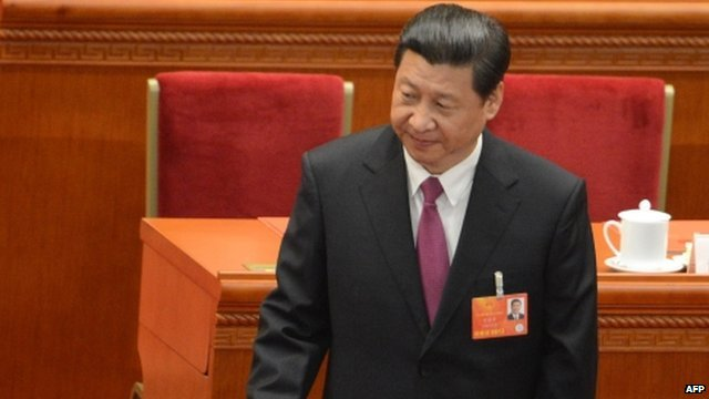 Newly-elected Chinese President Xi Jinping
