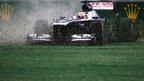 Pastor Maldonado's Williams