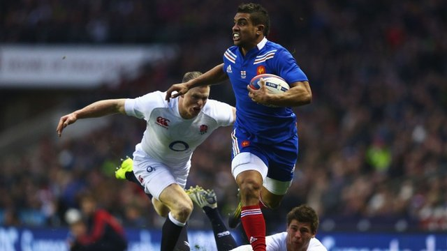 Wesley Fofana scores for France