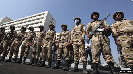 Army in Port Said