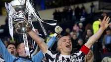 St Mirren skipper lifts the League Cup