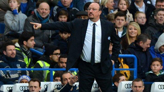 Chelsea boss Rafael Benitez