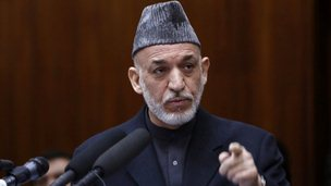 Afghan President Hamid Karzai. Photo: March 2013