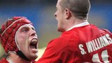 Alun Wyn Jones and Shane Williams