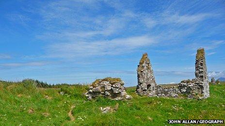Ruins of Finlaggan, Islay