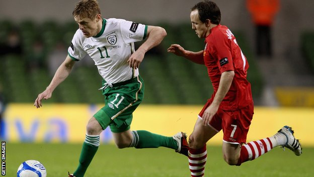 Wales lost 3-0 against the Republic of Ireland in 2011