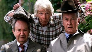 Tom Owen, Peter Sallis and Frank Thornton