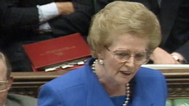 margaret thatcher research papers
