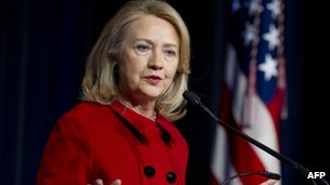 Hillary Clinton in Washington DC, 14 February 2013