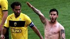 Giorgos Katidis celebrating a goal 