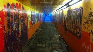 Kenpas Highway subway